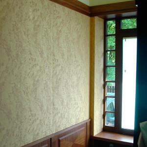 tapetowanie ścian w domku