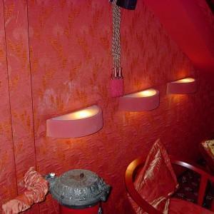 realizacja projektu ścian w restauracji
