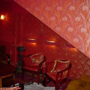 tapeta w restauracji