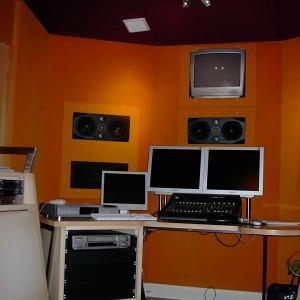 panele akustyczne w studiu muzycznym