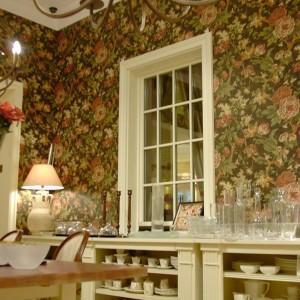 w kwiaty tapeta na ścianie