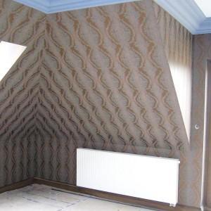 realizacja tapetowania poddasza