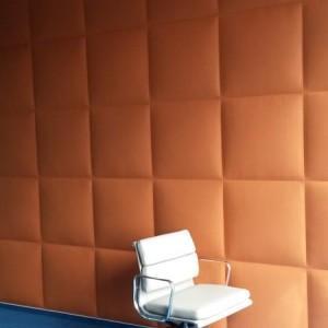 pomarańczowy panel akustyczny